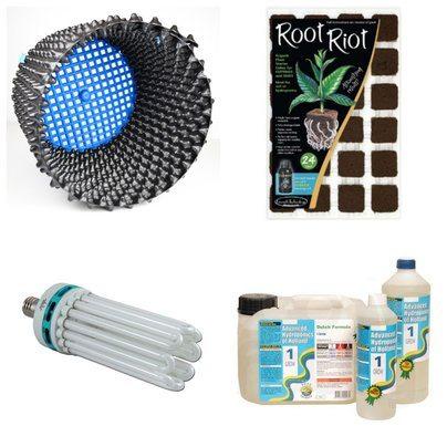 I groshoppen finder du alt det groudstyr man skal bruge, til at dyrke planter både inden -og udendørs.