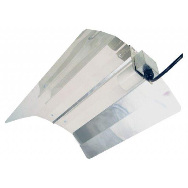 Blank reflektor af høj kvalitet til HPS og CFL pærer.