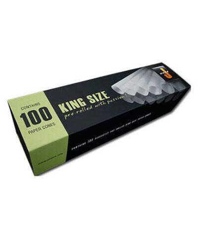 Jware 100 stk. cones er lige til at fylde og tænde op i.