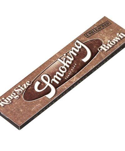 Brown smoking cigaretpapir er ultra tyndt og bæredygtigt.