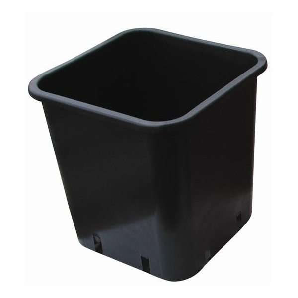 En kvadratisk potte er vigtig ved dyrkelse af alle slags planter. de kvadratiske potter giver dig mulighed for, at dyrke planter og samtidig minimere pladsspild.
